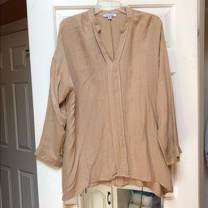 Tops - Polyester/cotton boutique blouse